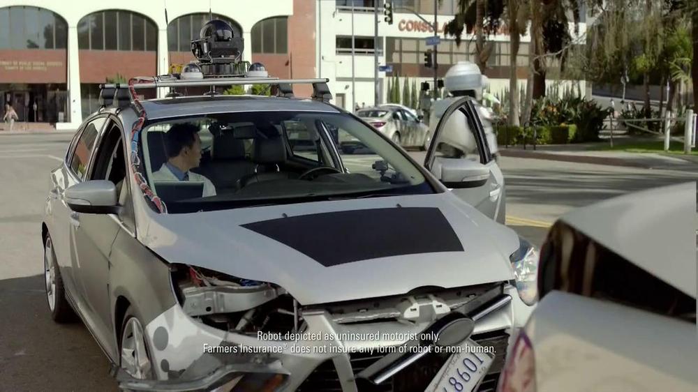 Farmers Insurance TV Spot, 'Robo Driver' - Screenshot 9