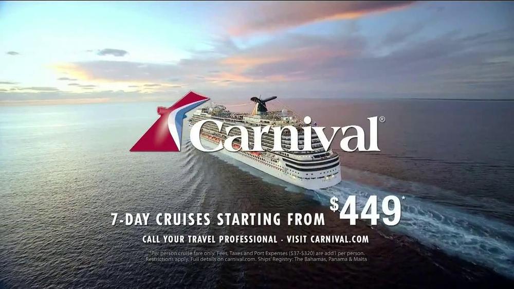 21 Pics Carnival Cruise Ad Agency