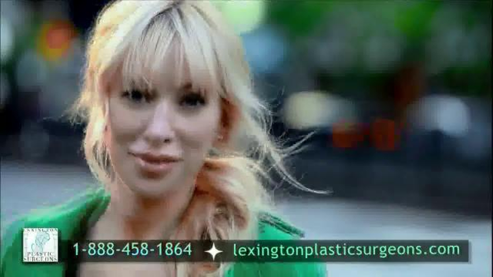 Lexington Plastic Surgeons TV Commercial