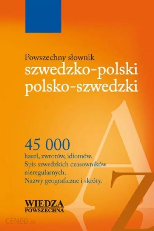 Słownik kieszonkowy szwedzko-polski