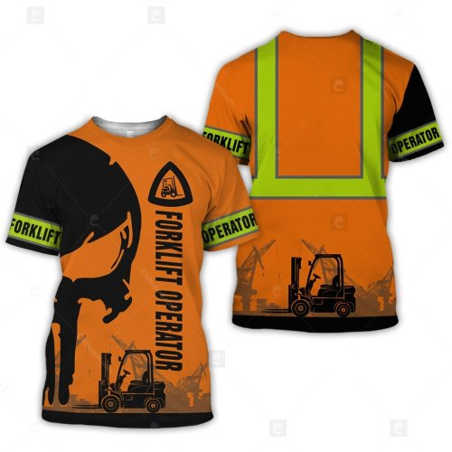 Forklift Operator 3D All Over Printed Clothes DT232 photo review