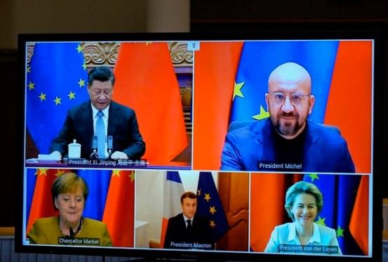[줌인] 중국 -EU 무역 협정에 의해 시험 된 바이든의 '동맹 외교'