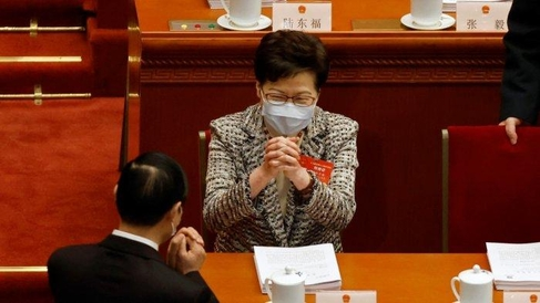 중국, 홍콩의 '살인 반대'선거 시스템 개혁 통과