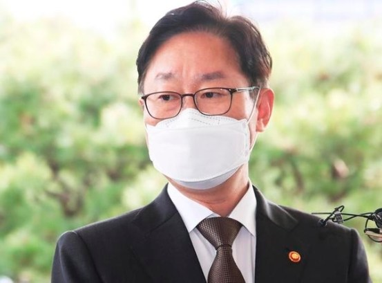 LH 사건 혐의로 기소를 탓하던 박범계