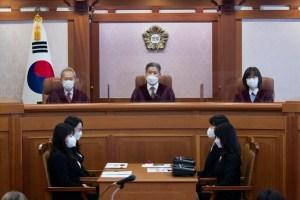 '21 만장 만 기록 '임성근 판사 탄핵 재판 시작 …'빨리 '헌법