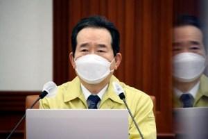 """수도권 2 단계 2 주만 더 … 丁 총리 """"5 명 이상 회의 계속 금지"""