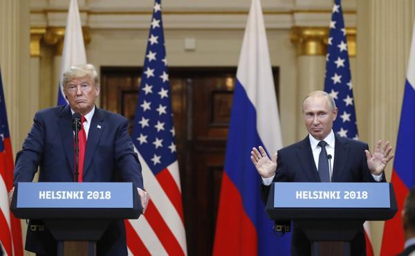 President Trump's Russia summit fiasco: Editorial Board ...