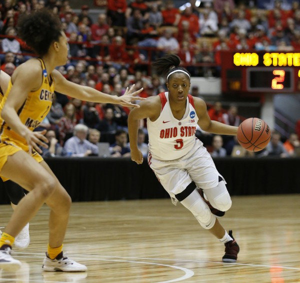 Kelsey Mitchell makes history as Ohio State women's ...
