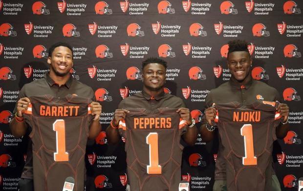 Image result for Cleveland browns 2017 draft