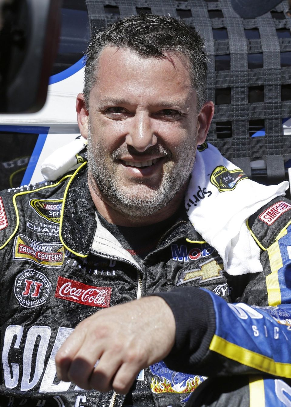 Image result for tony stewart drinking coke