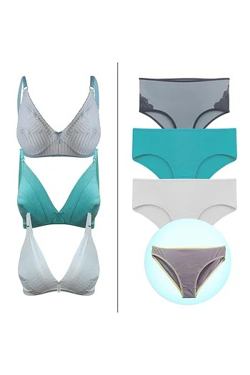 Back listing image for 7 Pc Bra-Panty Combo