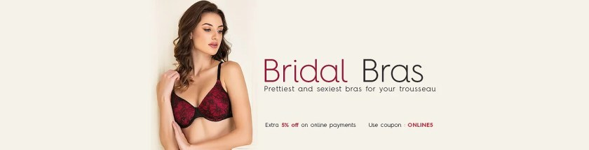 Bridal Bra – Buy Bridal Bra Panty Set for Honeymoon