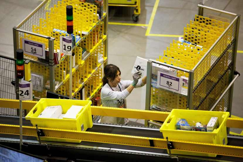 Amazon tests wearable social distancing device for warehouse workers 1