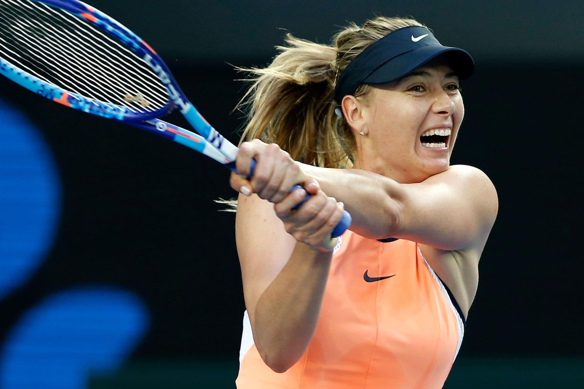 Five-time Grand Slam winner Maria Sharapova retires