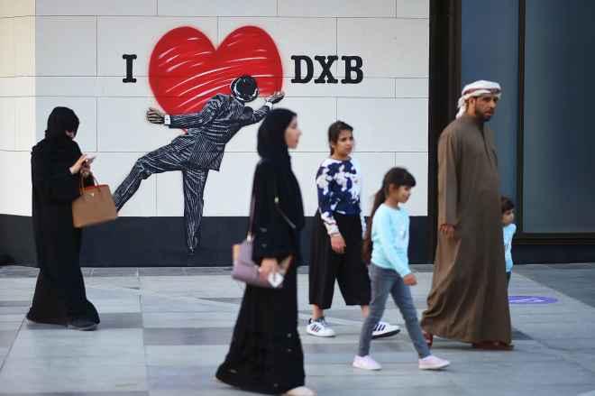 Subs: Dubai street scene 161130