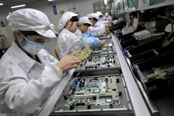 Apple supplier Foxconn restarts key China plant with 10% of ...