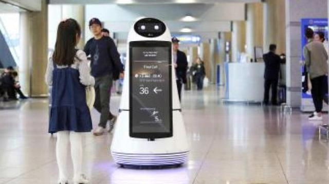 Tech giant is rolling out new robots to replace workers in hotels, airports and supermarkets