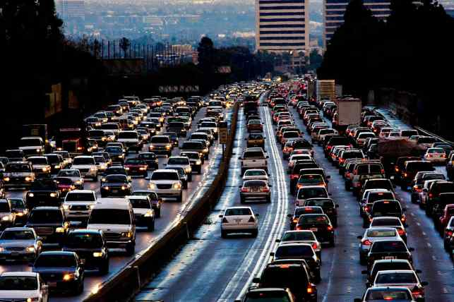GP: L.A. traffic California emissions