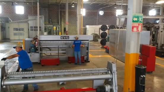 VS: EVG panel machines
