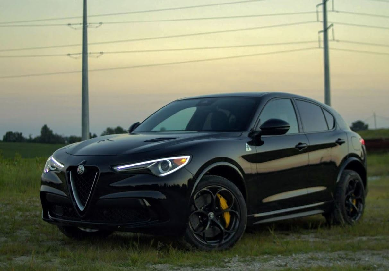 CNBC Tech: 2018 Alfa Romeo Stelvio Quadrifoglio 7