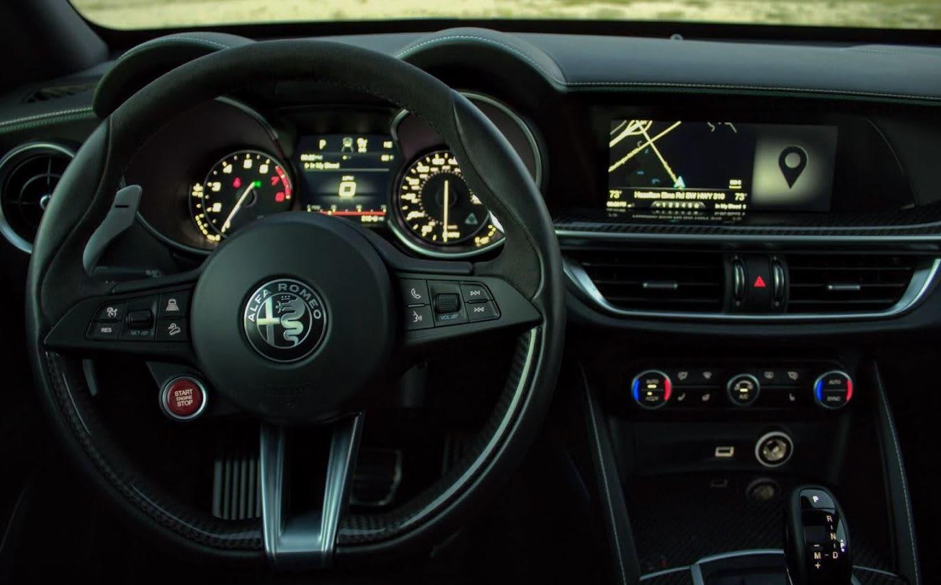 CNBC Tech: 2018 Alfa Romeo Stelvio Quadrifoglio 8