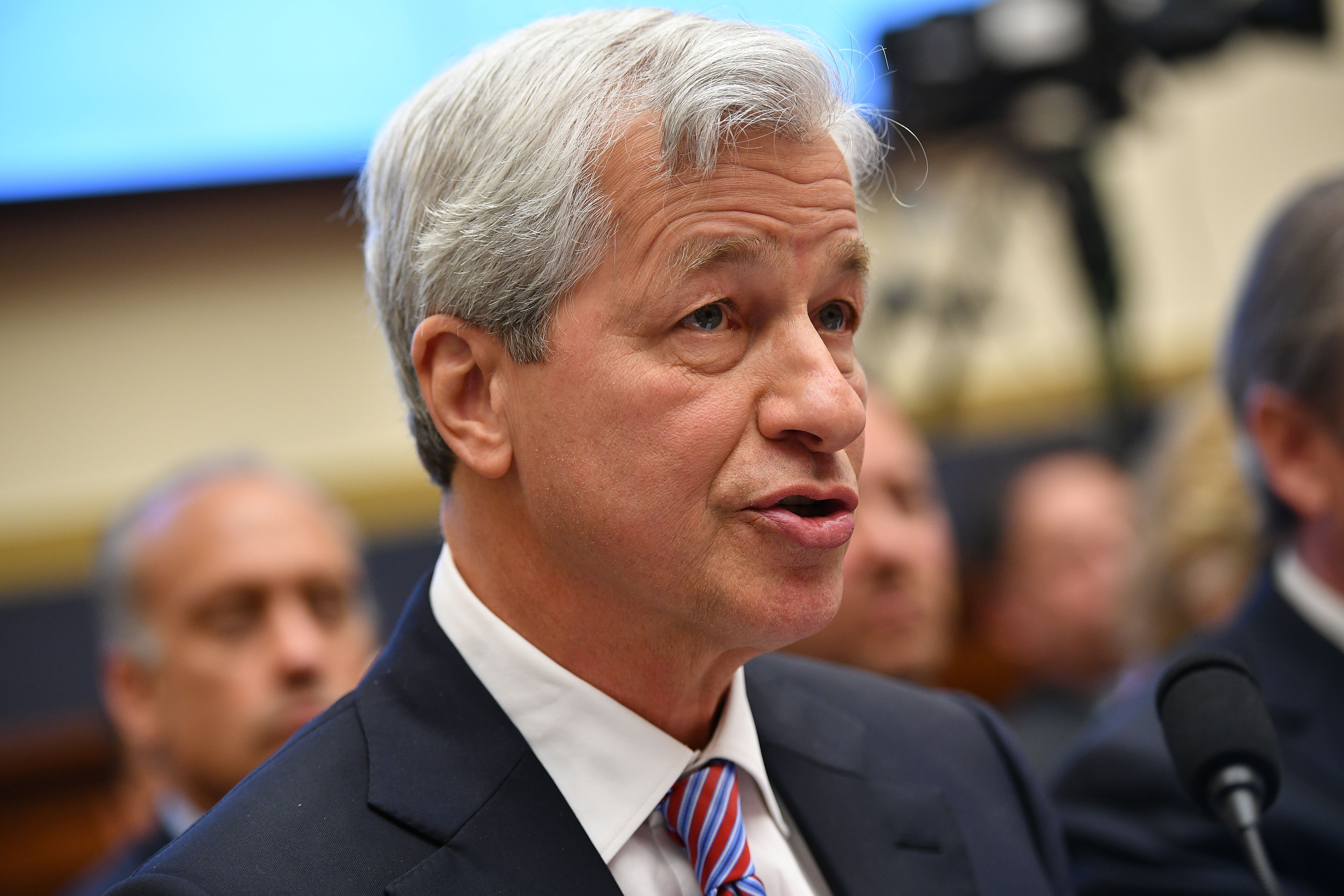 Photo of JPMorgan shares surge after Jamie Dimon says bank is 'very valuable' at current prices