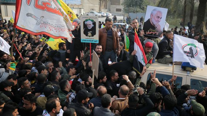 Image result for national mourning for Soleimani