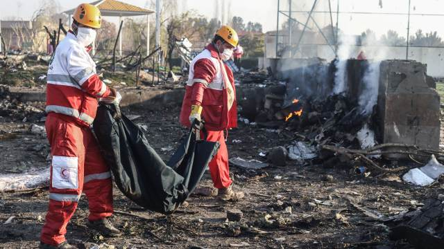 GP: Ukrainian plane crash in Iran - 106326236