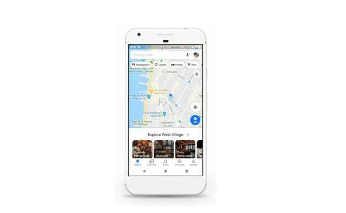 CNBC Tech: Google Maps redesign 1