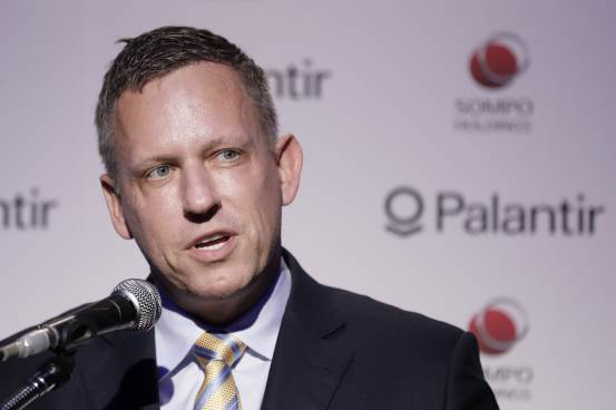 Peter Thiel criticizes Google and Apple for being too close to China