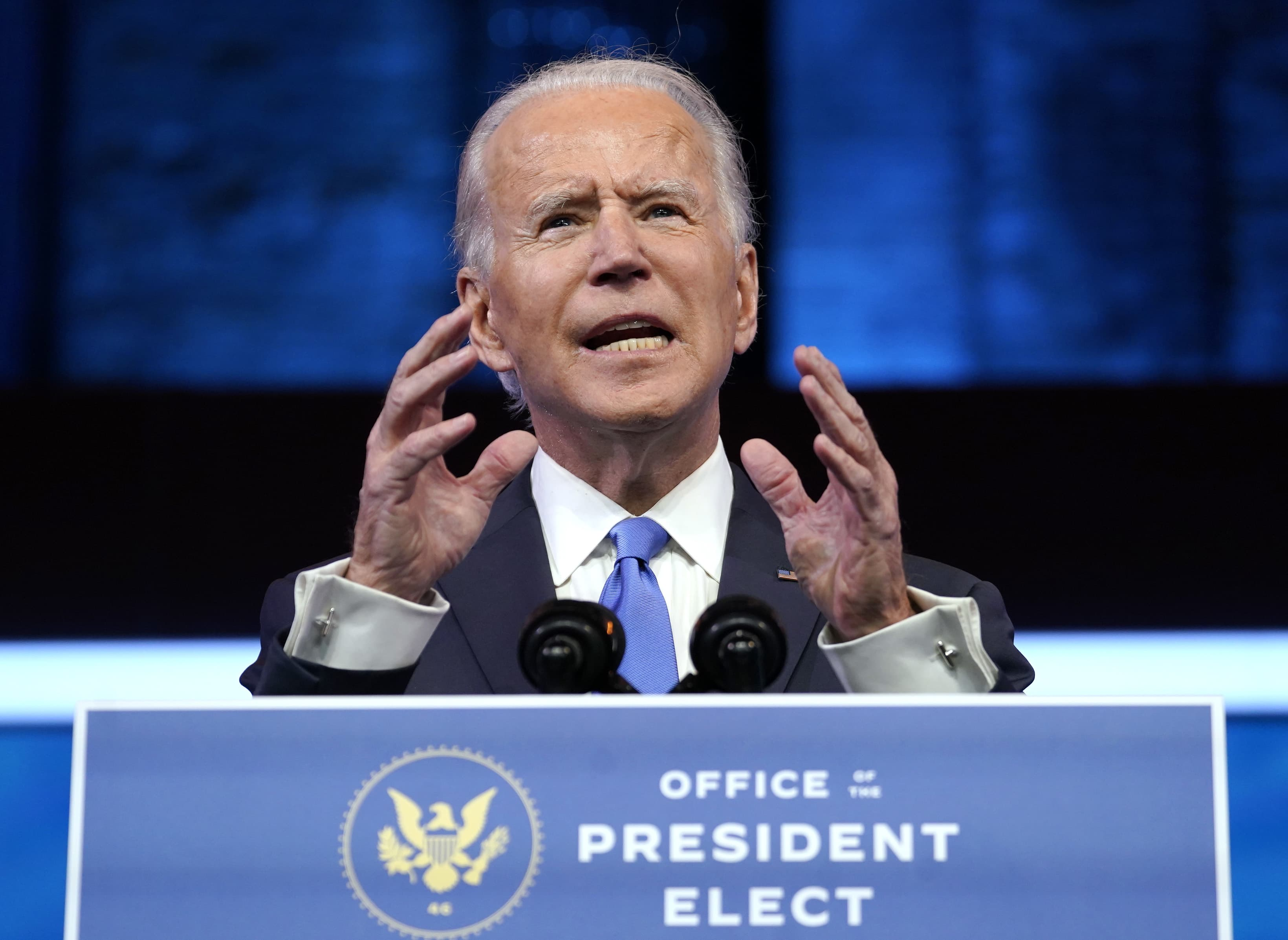 Biden calls for unity and healing after Electoral College certifies his victory