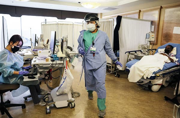 California hospitals Covid19 pandemic: hundreds are dying daily, stay at home orders extended
