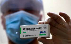 Chinese vaccine maker Sinopharm said the president and a director resigned