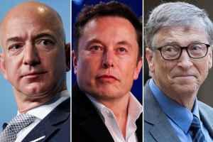 Bill Gates, Jeff Bezos and Elon Musk are fighting the climate problem Iron Man way