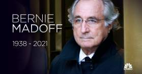 Bernie Madoff dies: Mastermind of the nation's biggest investment fraud was  82