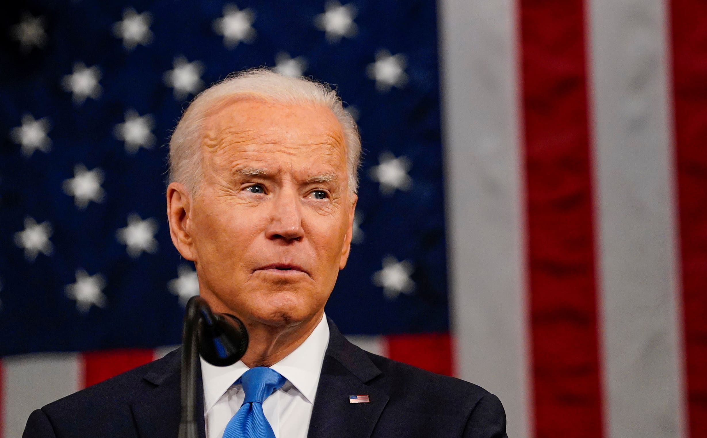 Biden calls for the U.S. to become more competitive against a 'deadly earnest' China