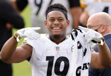 Pittsburgh Steelers star JuJu Smith-Schuster joins Wasserman agency after leaving Jay-Z's Roc Nation Sports