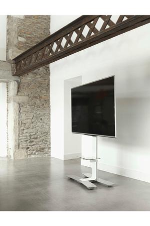 meuble tv will 1400 blanc avec tablette