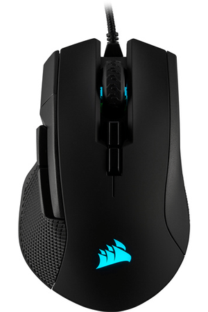 ironclaw rgb souris gaming fps moba noire