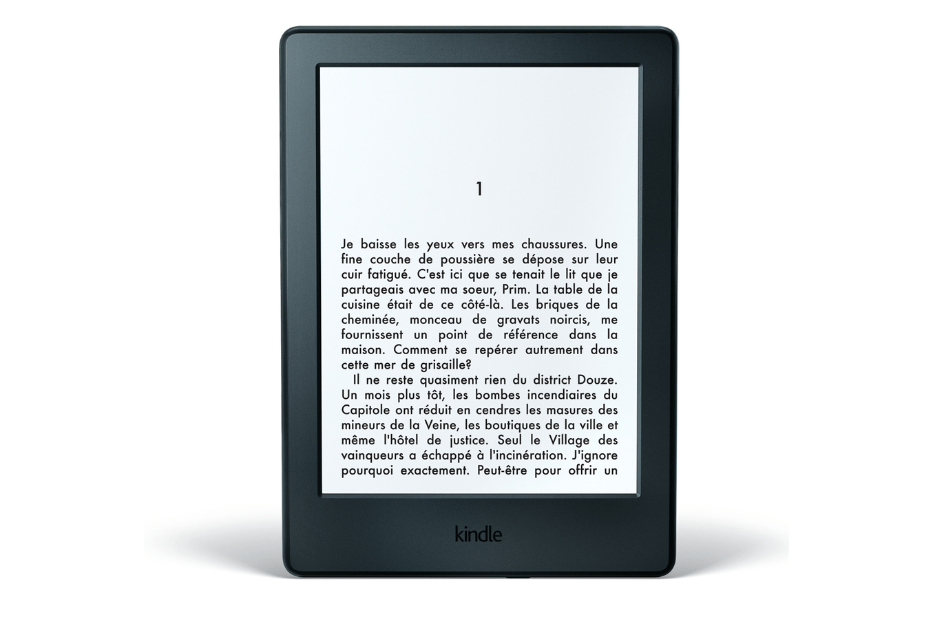 Liseuse eBook Kindle NOIR WIFI 4 GO NOUVELLE GENERATION