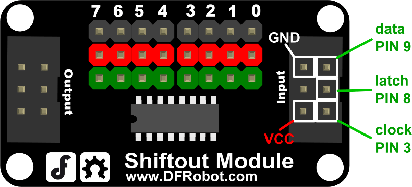 DFROBOT Cable for Shiftout