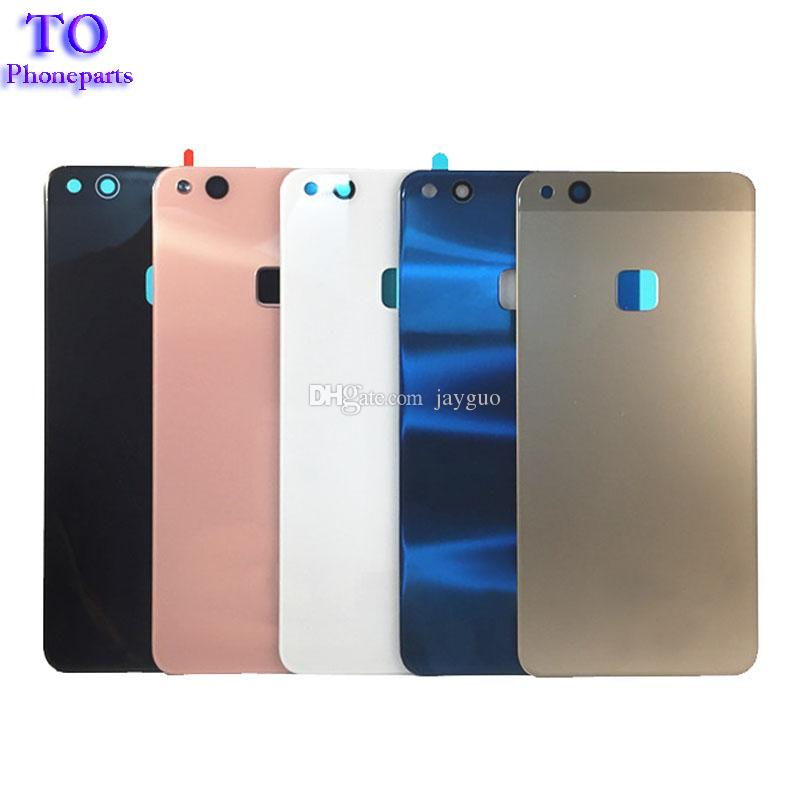 New Glass Battery Cover Case For Huawei P10 Lite Housing Rear Door Bateria Protective Back Cover Glass