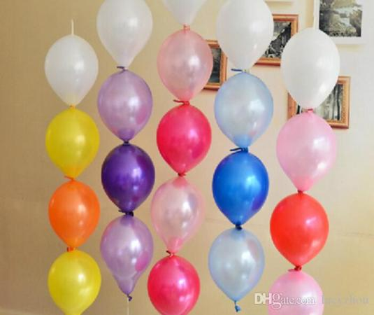 5  10  12   Colorful Pearl Tail Balloon Latex Materia Thicken For     5  10  12   Colorful Pearl Tail Balloon Latex Materia Thicken For Birthday  Wedding Party Home Decoration Decoration Animals Birthday Items For Kids  Birthday