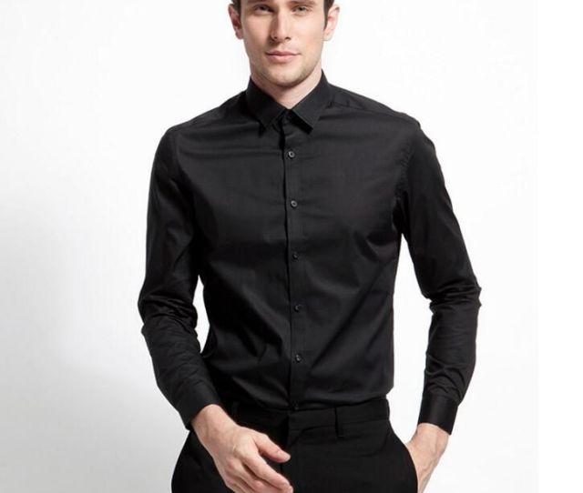 New Style Men Shirt Good Quality Groom Shirt Classic Black Custom Made Formal Shirt Business Shirt Long Sleeve Shirt From Chris Dhgate Com