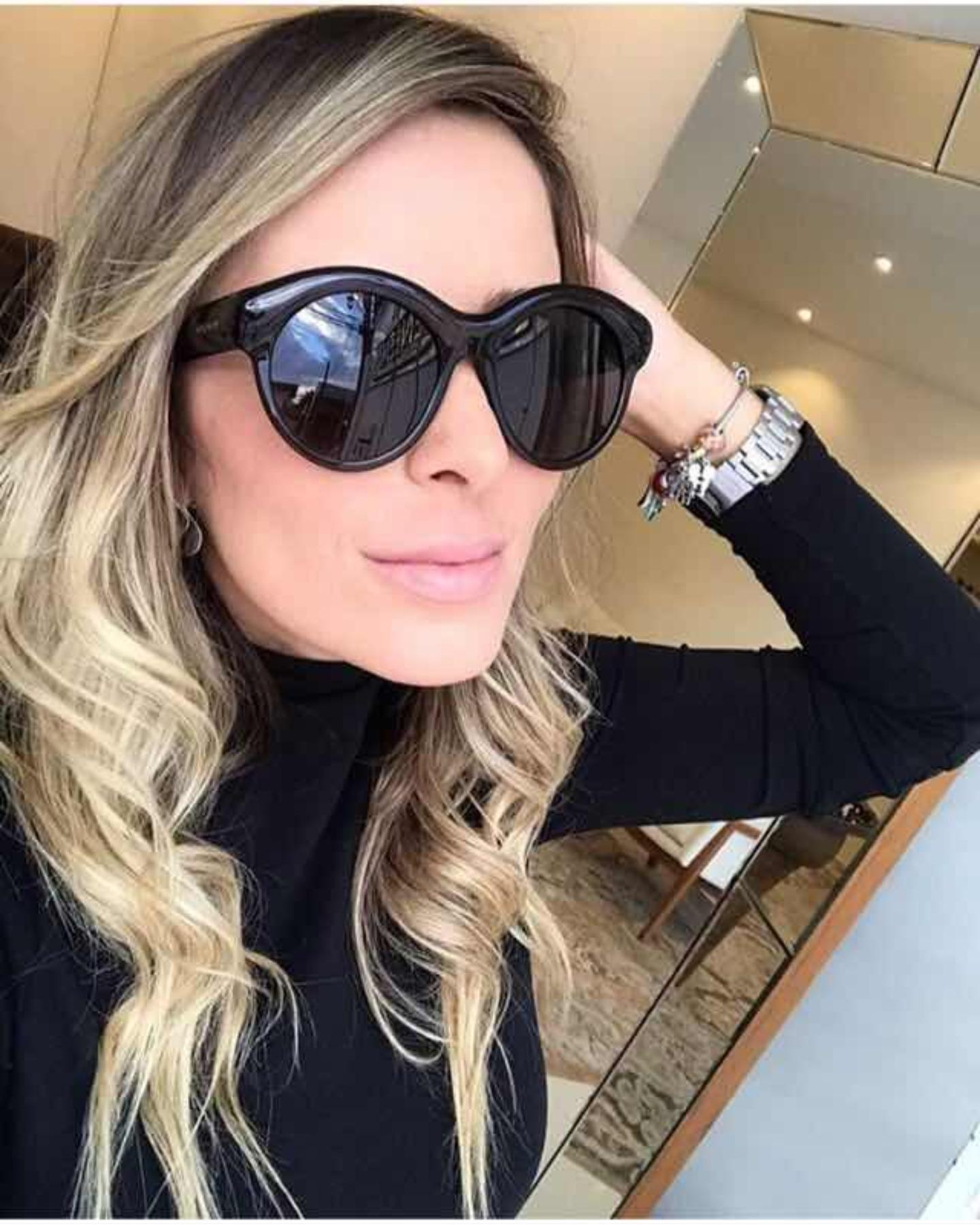Round Circle Sunglasses Women Retro Vintage Sun Glasses For Women