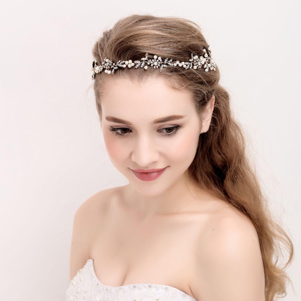 Bridal Hair Bands Vintage Fade Haircut