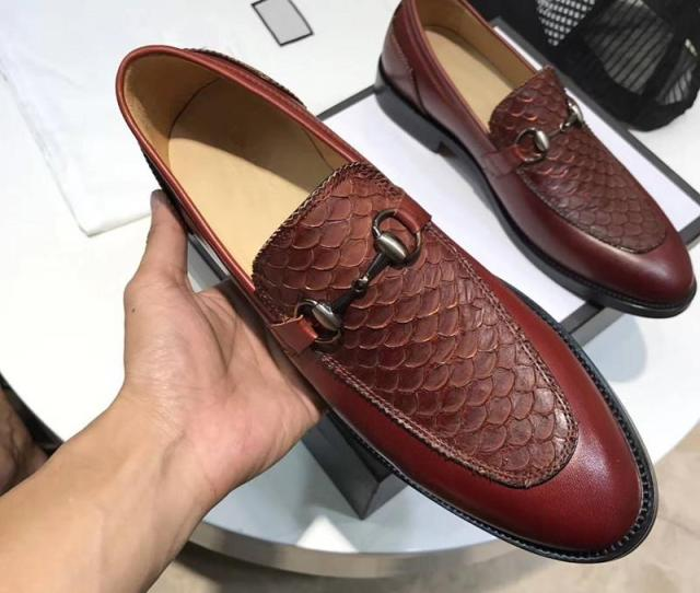 High Quality Leather Fashion Designers Design Fish Scales Unique Style Genuine Leather Size   Nude Shoes Orthopedic Shoes From Fashion_company