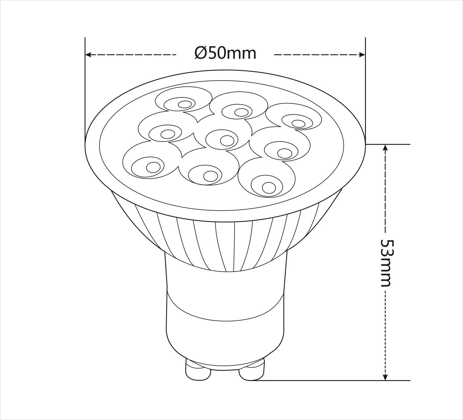 Mr16 Gu10 Led Bulbs 3w Led Spotlight 8 24v 9leds 220lm Warm White Nature White Light Led Light