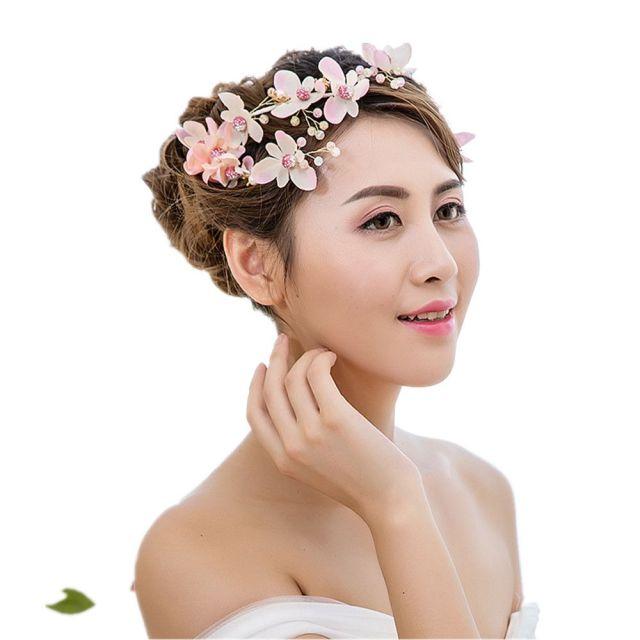 1-pair wedding hair pins bride wedding bouquets bridal hair accessory bridal headdress for bride dress flowers headdress accessories