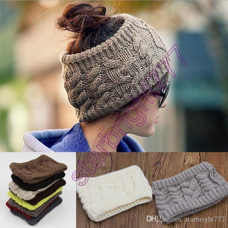 2019 Fashion Women Wide Crochet Headband Hot Winter Messy